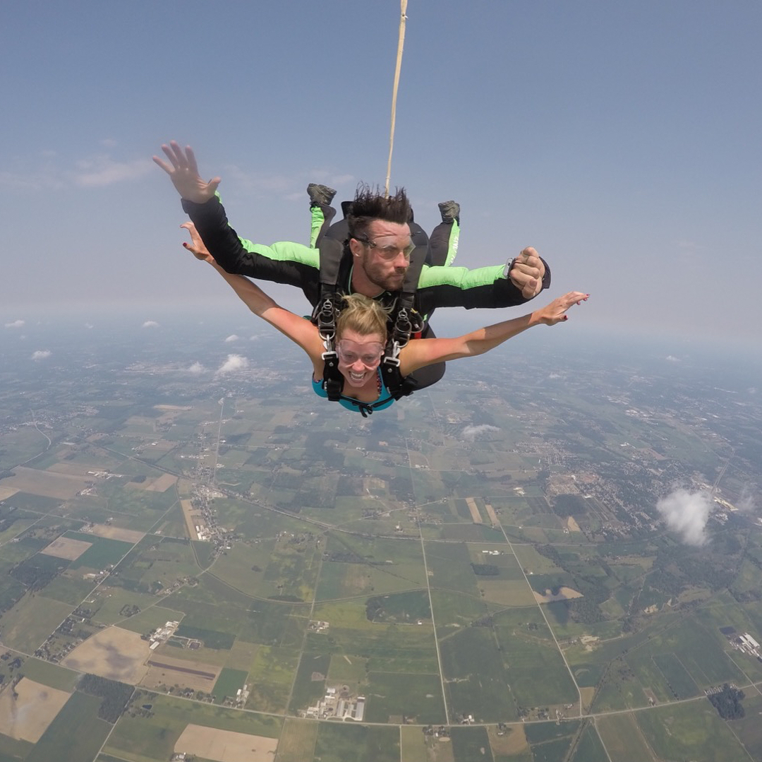 Skydive this Autumn
