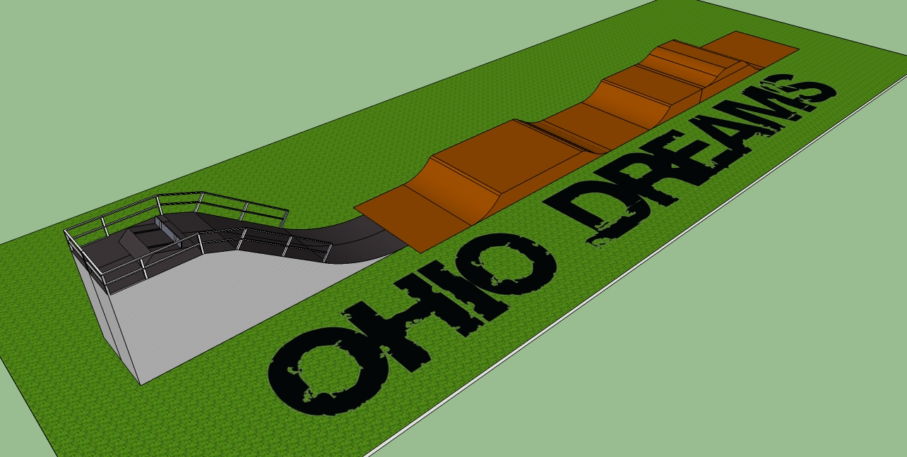 Ohio Dreams Adds BMX SX Hill