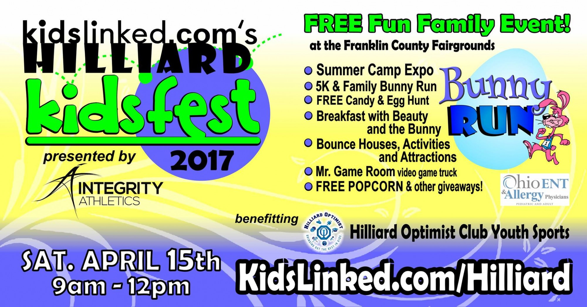 Meet us at the Hilliard Kids Fest