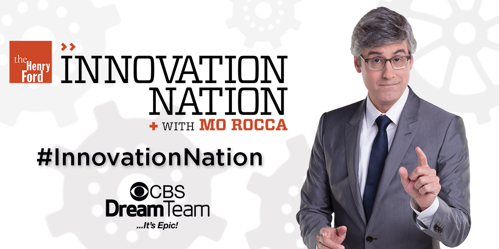 Watch us on CBS Innovation Nation