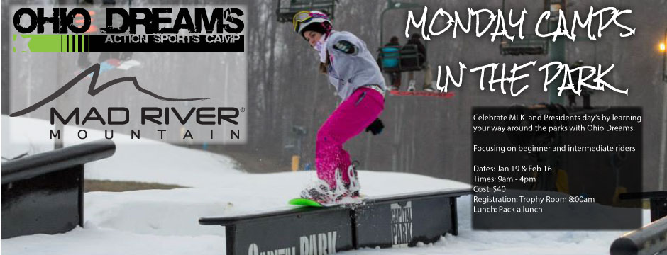 SKI AND SNOWBOARD CAMPS