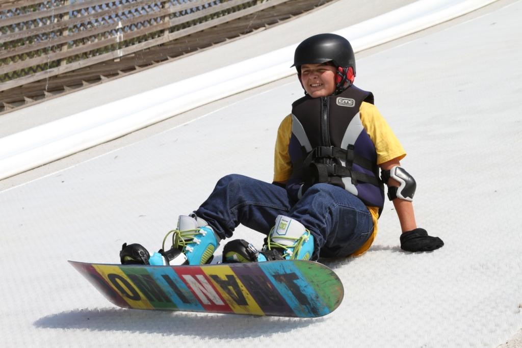 snowboard summer camp at ohio dreams