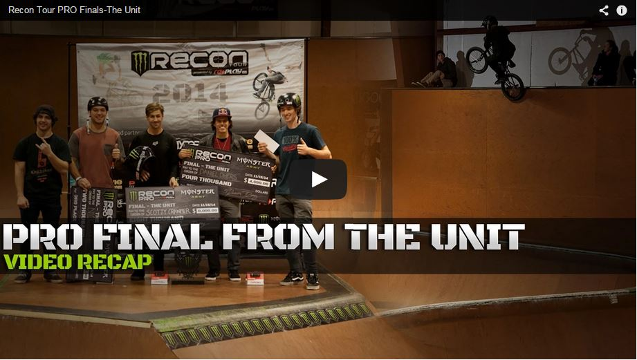 Monster Recon Tour Pro Finals